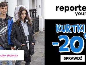 -20% na kurtki z Nowej Kolekcji reporter young