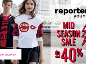 Mid season sale do -40% w reporter young