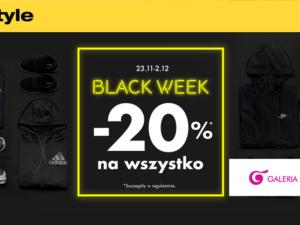 50STYLE | BLACK WEEK: -20% na wszystko