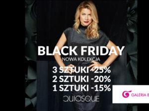 Black Friday w QUIOSQUE! Rabaty dla Ciebie!