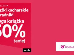 Książki kucharskie i poradniki druga książka 50% taniej w Empik