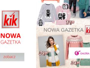 Przytulnie, kolorowo i odjazdowo – tak w skrócie można opisać promocje, które znajdziecie w nowej gazetce KiK! 😍