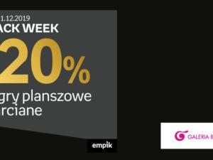 Black Week -20% na gry planszowe i karciane w Empik