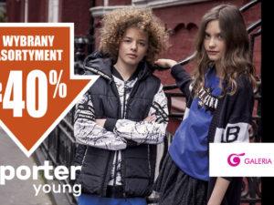 Do -40% na wybrany asortyment z kolekcji Jesień/Zima19 reporter young