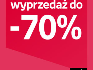 Wyprzedaż do -70% w Empik