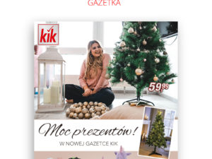 W najnowszej gazetce KiK znajdziesz inspiracje w sam raz na święta!  🎄