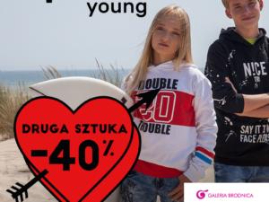 Reporter Young W PARZE TANIEJ!  – 40% na drugą, tańszą sztukę – 50% na zakupy w parze!