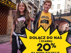 Dołącz do nas i zgarnij rabat -20% na Nową Kolekcję WL20!