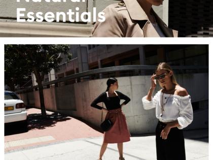 Natural Essentials – modny i wygodny miejski look na pierwsze dni wiosny – sinsay