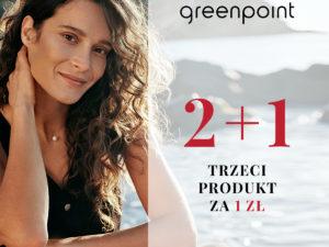 Greenpoint 2+1 trzeci produkt za 1 zł!