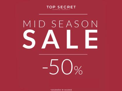 Już jest Mid season sale do -50% w Top Secret!