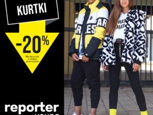 -20% na KURTKI z nowej kolekcji!
