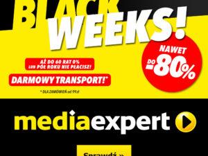 Mega Okazje! – Black Weeks! Nawet do – 80 %