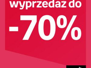 Wyprzedaż w EMPIK do -70%
