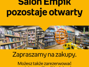 Salon Empik pozostaje otwarty