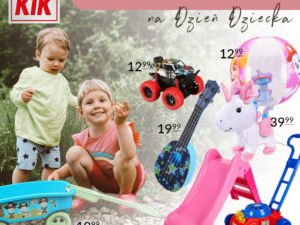 Pomysły na Dzień Dziecka w KIK