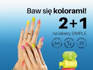 Baw się kolorami! 2+1 w Neonail