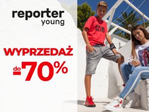 WYPRZEDAŻ do -70% w Reporter Young