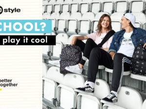 50 style. SCHOOL? PLAY IT COOL ! 🆒