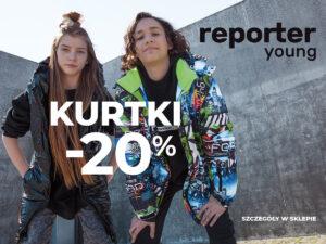 WOW! KURTKI -20%!